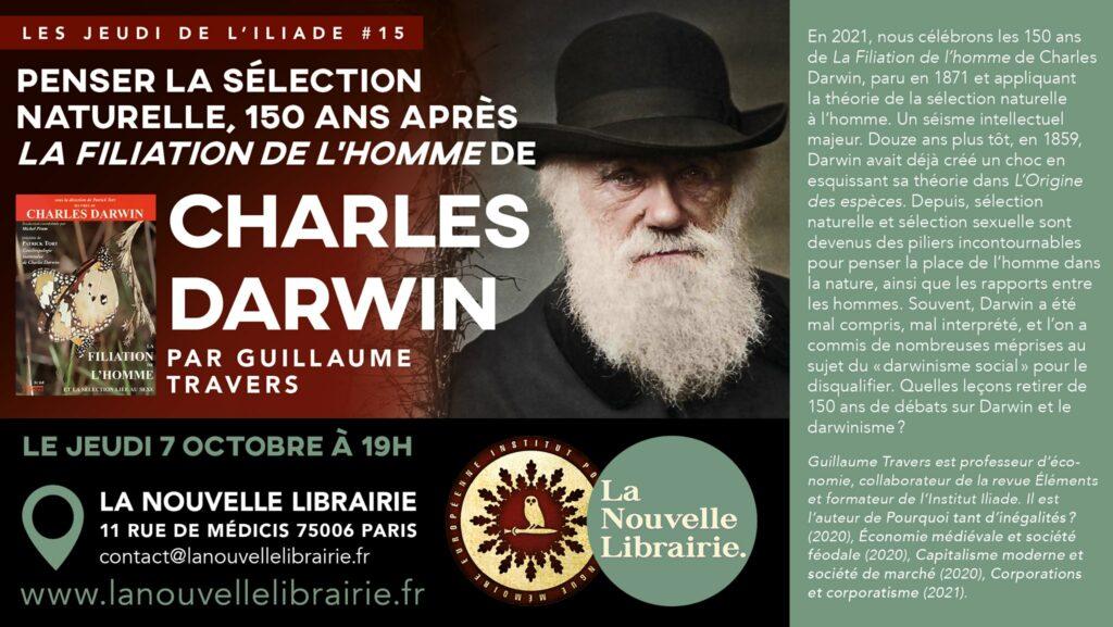 Les jeudis de l'Iliade, Darwin