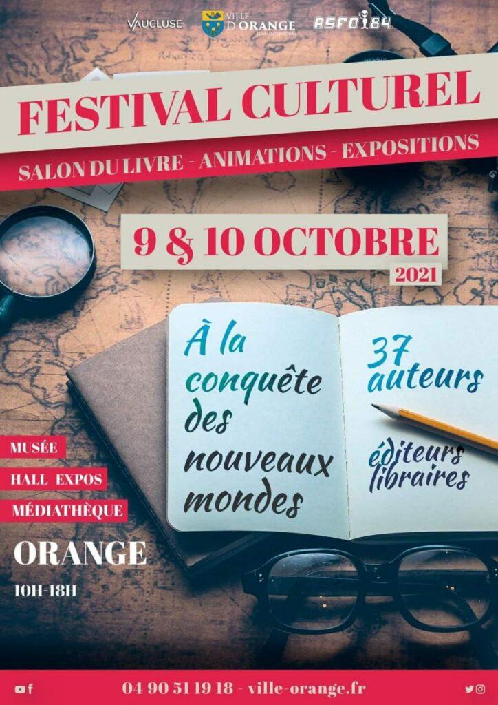 festival du livre Orange