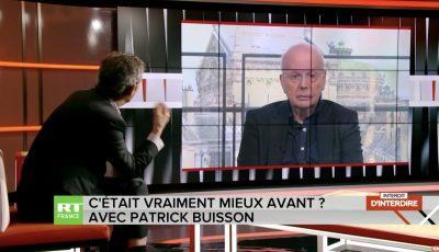 Patrick Buisson sur RT