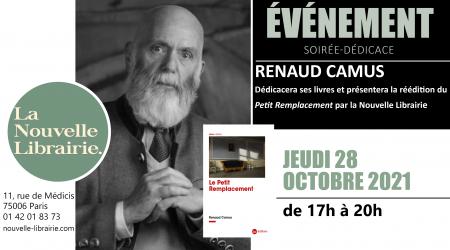 Dédicace Renaud Camus