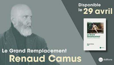 Renaud Camus Grand entretien