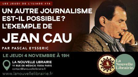 jeudi iliade Jean Cau
